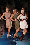 "Janine DiVita ""Penelope"", Colleen Zenk ""Anticleia"", Emma Zaks ""Athena""  Opening Night of Odyssey - The Epic Musical starring Colleen Zenk, Edddie Korbich, Josh A. Davis, Emma Zaks and Janine DiVita and cast on October 23, 2011 at the American Theatre of Actors, New York City, New York. (Photo by Sue Coflin/Max Photos)"