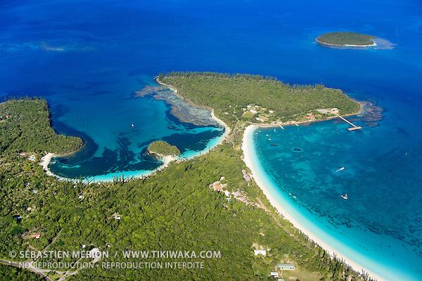 Baies de Kanuméra et de Kuto, Ile des Pins, Nouvelle-Calédonie