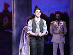 Derek Klena during Broadway Opening Night Performance Curtain Call bows for 'Anastasia' at the Broadhurst Theatre on April 24, 2017 in New York City.