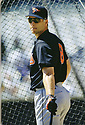 CIRCA 1997: Cal Ripken Jr.  #8  of the Baltimore Orioles pre-game by the batting cage before a game from his 1997 season with the Baltimore Orioles. Cal Ripken Jr. played for 21 years, all with the the Baltimore Orioles, was a 19-time All Star, 2-time American League MVP and elected to the Baseball Hall of Fame in 2007..(Photo by: 1997 SportPics)  *** Local Caption *** Cal Ripken Jr