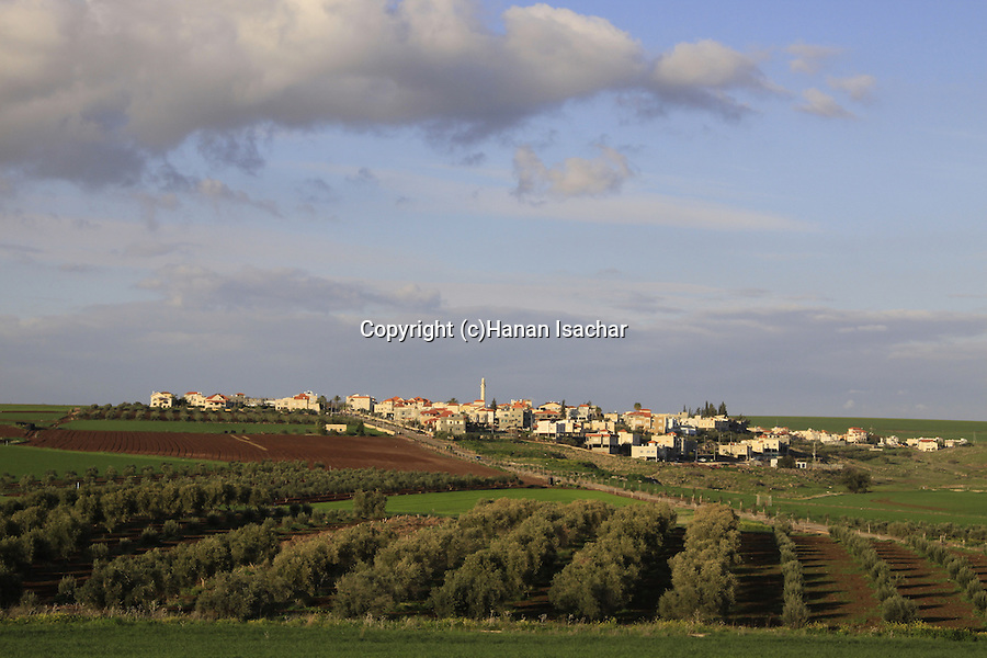 Israel, Lower Galilee, Bedouin village Taibe in Issachar Heights