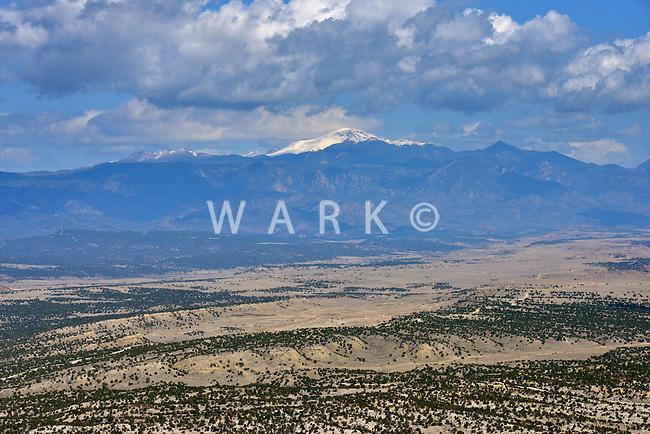 Pikes Peak from Pueblo West, Colorado. 2013.  87456