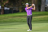 HaoTong Li (CHN) watches his approach shot on 6 during round 2 of the World Golf Championships, Mexico, Club De Golf Chapultepec, Mexico City, Mexico. 2/22/2019.<br /> Picture: Golffile | Ken Murray<br /> <br /> <br /> All photo usage must carry mandatory copyright credit (© Golffile | Ken Murray)