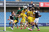 Freddie Woodman of Swansea City punches clear during Millwall vs Swansea City, Sky Bet EFL Championship Football at The Den on 30th June 2020
