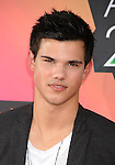 LOS ANGELES, CA. - March 27: Taylor Lautner arrive at Nickelodeon's 23rd Annual Kid's Choice Awards at Pauley Pavilion on March 27, 2010 in Los Angeles, California.