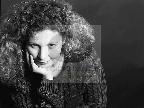 Solveig Dommartin, French-German actress, at the Vila do Conde Festival de Curtas Metragens