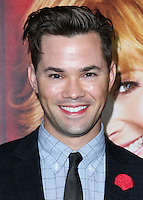 HOLLYWOOD, LOS ANGELES, CA, USA - NOVEMBER 05: Andrew Rannells arrives at the Los Angeles Premiere Of HBO's 'The Comeback' held at the El Capitan Theatre on November 5, 2014 in Hollywood, Los Angeles, California, United States. (Photo by Xavier Collin/Celebrity Monitor)