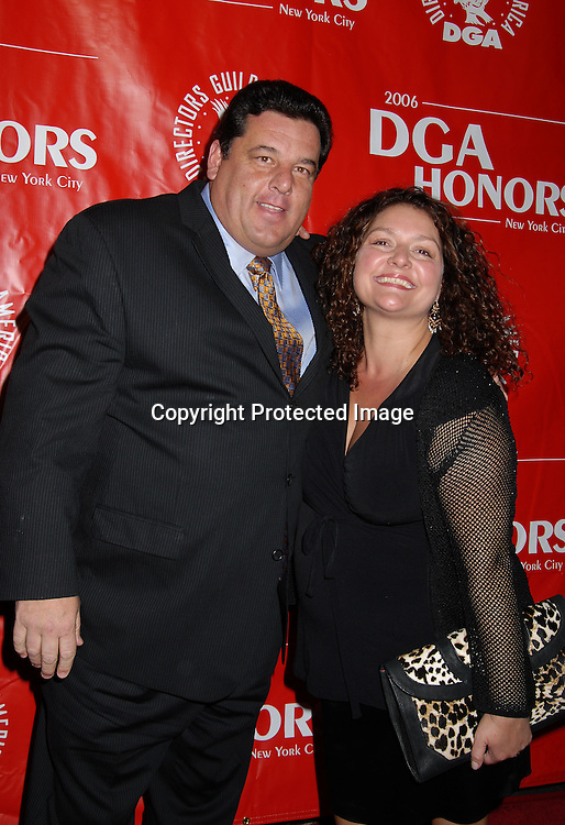 Steve Schirippa and Aida Turturro ..arriving at The DGA Honors, which honors outstanding individuals and institutions to the film and television    industry, on October 12, 2006 at The Directors Guild of ..America Theatre in New York City. ..Robin Platzer, Twin Images..