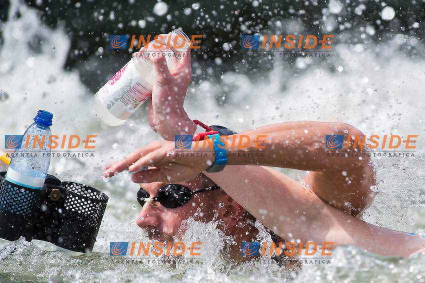 RUFFINI Simone ITA<br /> Hoorn, Netherlands <br /> LEN 2016 European Open Water Swimming Championships <br /> Open Water Swimming<br /> Men's 10km<br /> Day 01 10-07-2016<br /> Photo Giorgio Perottino/Deepbluemedia/Insidefoto