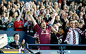 13/05/2006         Copyright Pic: James Stewart.File Name : sct_jspa09_hearts_v_gretna.HEARTS CAPTAIN STEEVEN PRESSLEY LIFTS THE SCOTTISH CUP........Payments to :.James Stewart Photo Agency 19 Carronlea Drive, Falkirk. FK2 8DN      Vat Reg No. 607 6932 25.Office     : +44 (0)1324 570906     .Mobile   : +44 (0)7721 416997.Fax         : +44 (0)1324 570906.E-mail  :  jim@jspa.co.uk.If you require further information then contact Jim Stewart on any of the numbers above.........