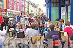 More busking on Main Street Cahersiveen during the festival.