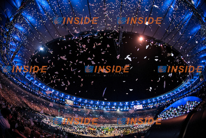 opening ceremony<br /> Rio de Janeiro 06-08-2016 XXXI Olympic Games <br /> Maracana' Stadium <br /> Opening Ceremony 05/08/2016<br /> Photo Giorgio Scala/Deepbluemedia/Insidefoto
