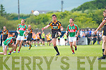 Austin Stacks Shane Carroll at his ease makes another point in the Con Keating Park Cahersiveen on Sunday.
