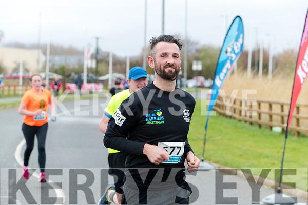 David O'brien runners in the Tralee International Marathon series in Tralee on Saturday.