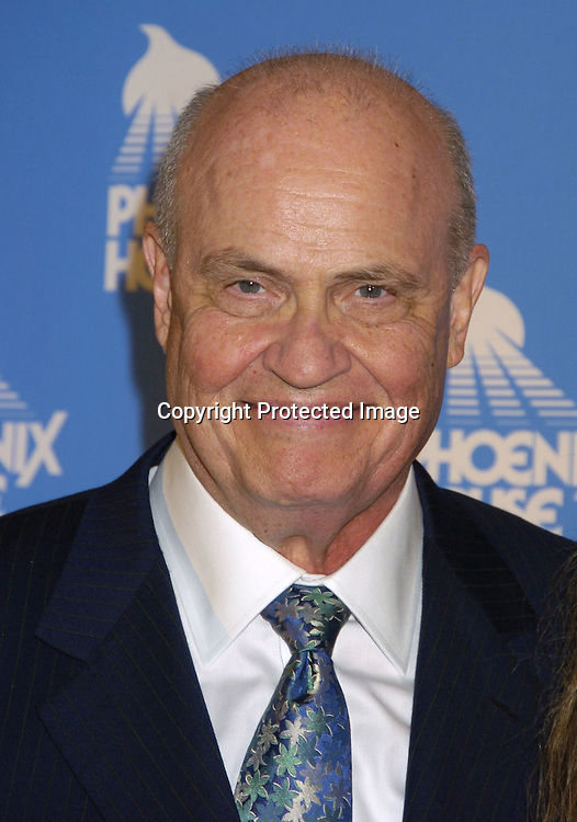 Fred Thompson ..at the Phoenix House Benefit honoring Jeff Zucker with the Phoenix Rising Award on June 8, 2005 at The Waldorf Astoria . ..Photo by Robin Platzer, Twin Images