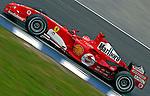 Grande prêmio de formula 1 em Interlagos. SP. 2005. Foto de Caetano Barreira.