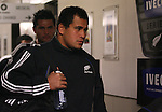 All Black debutant John Schwalger enters Waikato Stadium before the Iveco rugby union international test match between the All Blacks and Canada at Waikato Stadium, Hamilton, New Zealand on Saturday 16 June 2007. The All Blacks won the match 64 - 13.