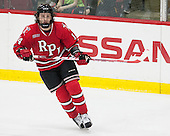 Riley Bourbonnais (RPI - 14) - The Harvard University Crimson defeated the visiting Rensselaer Polytechnic Institute Engineers 5-2 in game 1 of their ECAC quarterfinal series on Friday, March 11, 2016, at Bright-Landry Hockey Center in Boston, Massachusetts.