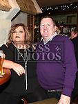 Declan and Laura Brannigan enjoying the new years eve celebrations in The Thatch. . Photo:Colin Bell/pressphotos.ie