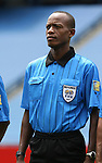 16 June 2007: Referee Courtney Campbell of Jamaica. The Canada Men's National team defeated the Guatemala Men's National Team 3-0 at Gillette Stadium in Foxboro, Massachusetts in a 2007 CONCACAF Gold Cup quarterfinal.