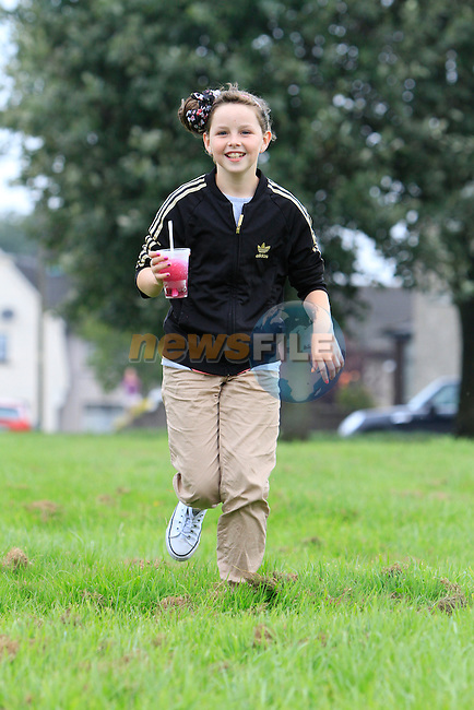 Keely Murphy.at the yellow batter sports day..Picture: Fran Caffrey / www.newsfile.ie