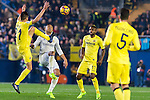Bruno Soriano Llido (l) of Villarreal CF competes for the ball with Carlos Henrique Casemiro of Real Madrid during their La Liga match between Villarreal CF and Real Madrid at the Estadio de la Cerámica on 26 February 2017 in Villarreal, Spain. Photo by Maria Jose Segovia Carmona / Power Sport Images
