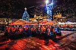 Kraków, 13-18.12.2019. Iluminacja bożonarodzeniowa na Starym Mieście w Krakowie. PAP/Jerzy Ochoński