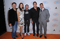 21 September 2016 - Hollywood, California. Amanda Righetti , Scott Grimes, Bob Guiney, Adrian Pasdar. 8th Annual Get Lucky for Lupus LA Celebrity Poker Tournament  held at Avalon Hollywood. Photo Credit: Birdie Thompson/AdMedia