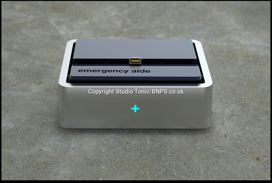 BNPS.co.uk (01202) 558833<br /> Picture: Studio Tonic<br /> <br /> A new smoke-detector that can be plugged into an iPhone could save more lives than the current ceiling systems. The Sense+ fire alarm is activated when an iPhone is placed in the dock that has sensitive smoke and gas sensors. When the device picks up any trace of poisonous gas, such as carbon monoxide, or smoke, it will launch an application on the mobile and a loud alert will ring. If the alarm is not switched off within thirty seconds, the life-saving technology will then show a screen of emergency contact numbers such as the fire brigade. It will also automatically phone contact numbers in an emergency address book which is fully customisable and can be family, friends, or neighbours. Designers Studio Tonic behind the gadget claim that it could detect smoke or gas quicker than the ceiling models used across the world.