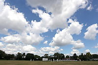 General view of play during Ilford CC (batting) vs Billericay CC, Shepherd Neame Essex League Cricket at Valentines Park on 25th May 2019