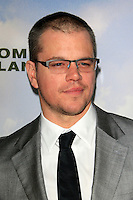 LOS ANGELES, CA - DECEMBER 06:  Matt Damon at the premiere of Focus Features' 'Promised Land' at the Directors Guild Of America on December 6, 2012 in Los Angeles, California. © Nina Prommer / Retna Ltd. / Mediapunchinc /NortePhoto /NortePhoto©