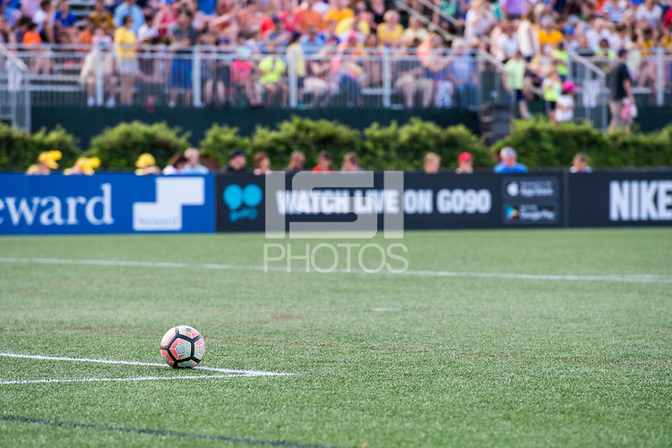 Boston, MA - Saturday June 24, 2017:  A regular season National Women's Soccer League (NWSL) match between the Boston Breakers and the North Carolina Courage at Jordan Field.