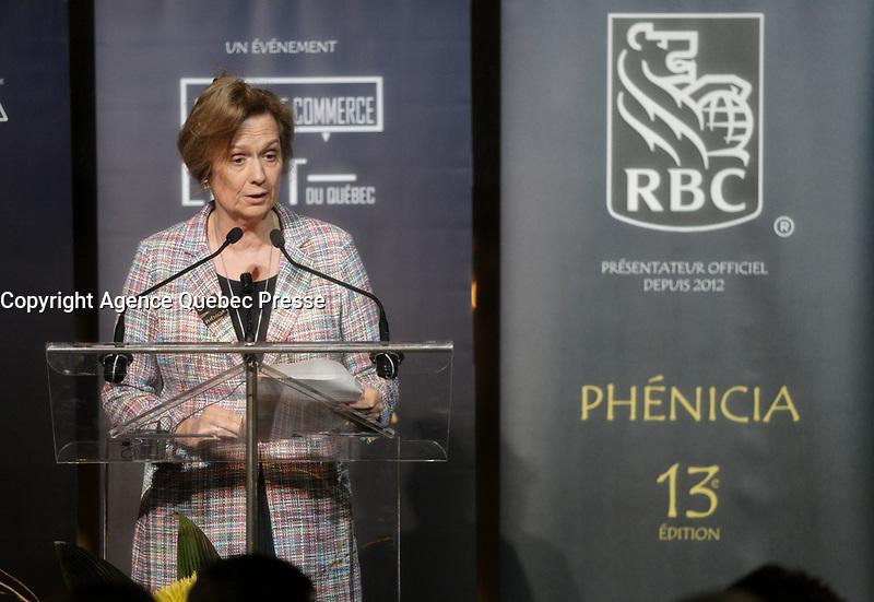 Marie-Laure Leclerc  au<br /> 13 ieme Gala Phenicia , 25 mai 2017