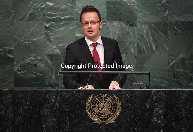 HUNGARY<br /> GA 28th plenary meeting