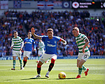 12.05.2019 Rangers v Celtic: James Tavernier and Jonny Hayes