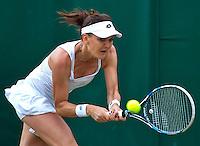 London, England, 4th July, 2016, Tennis, Wimbledon, Agnieszka Radwanska (POL)<br /> Photo: Henk Koster/tennisimages.com