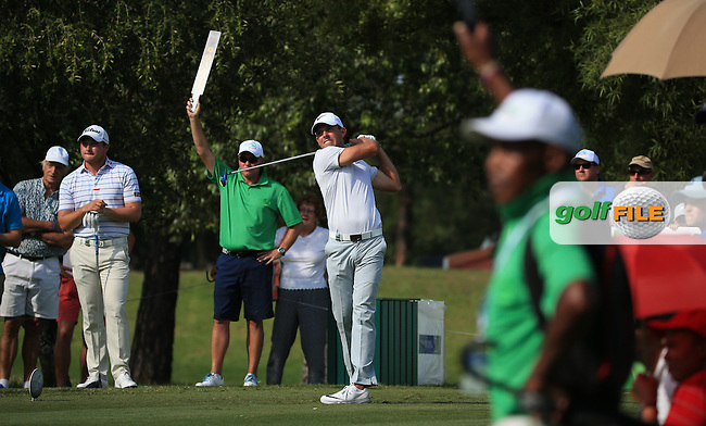 Charl Schwartzel (RSA) in action playing to the last hole during the Final Round of the 2016 Tshwane Open, played at the Pretoria Country Club, Waterkloof, Pretoria, South Africa.  14/02/2016. Picture: Golffile | David Lloyd<br /> <br /> All photos usage must carry mandatory copyright credit (&copy; Golffile | David Lloyd)