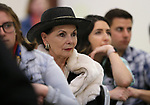 Dr. Judith Cordia listens to a speaker at the annual Western Nevada College Foundation Scholarship Appreciation &amp; Recognition Celebration in Carson City, Nev., on Friday, March 9, 2018. <br /> Photo by Cathleen Allison/Nevada Momentum