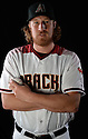 Arizona Diamondbacks Adam Loewen (58) during photo day on February 28, 2016 in Scottsdale, AZ.