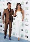 Matthew McConaughey and Camila Alves attends The 2014 Film Independent Spirit Awards held at Santa Monica Beach in Santa Monica, California on March 01,2014                                                                               © 2014 Hollywood Press Agency