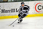 8 February 2009: University of New Hampshire Wildcats' defenseman Courtney Sheary, a Sophomore from Melrose, MA, in action against the University of Vermont Catamounts in the second game of a weekend series at Gutterson Fieldhouse in Burlington, Vermont. The Wildcats defeated the lady Catamounts 6-2 to sweep the 2-game series. Mandatory Photo Credit: Ed Wolfstein Photo