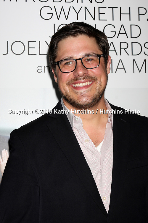 """LOS ANGELES - SEP 16:  Rich Sommer at the """"Thanks for Sharing"""" Premiere  at ArcLight Hollywood Theaters on September 16, 2013 in Los Angeles, CA"""