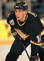 Geoff Courtnall Vancouver Canucks 1993. Photo F. Scott Grant