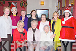 ACTIVE: The Mitchels Active retirement held their Christmas party in the John Mitchels GAA Club on Saturday. Front l-r: Helen O'Shea, Ann Quirke and Babs McElligott. Back l-r: Nellie Higgins, Madge Hurley, Mary Hussey, Maureen Sugrue, Eilish O'Shea,Vera Power and Sandra Breen(santa).. . ............................... ..........