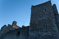 Rochester Castle in Rochester, Kent. UK Monday August 11th 2014