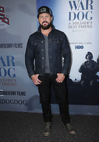 06 November  2017 - Los Angeles, California - AJ Buckley. &quot;War Dog: A Soldier's Best Friend&quot; Los Angeles premiere held at Director's Guild of America in Los Angeles. <br /> CAP/ADM/BT<br /> &copy;BT/ADM/Capital Pictures