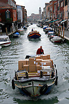 Package Delivery, Murano, Italy
