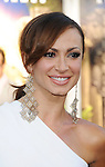 "WESTWOOD, CA - JULY 06: Karina Smirnoff arrives to the ""Zookeeper"" Los Angeles Premiere at Regency Village Theatre on July 6, 2011 in Westwood, California."