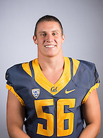Cal Football Portraits, August 9, 2016