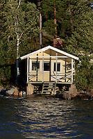 Insel vor Helsinki, Finnland